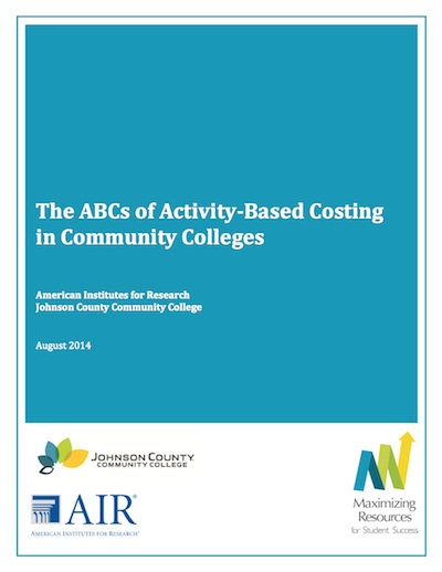 The ABCs of Activity-Based Costing in Community Colleges (PDF)